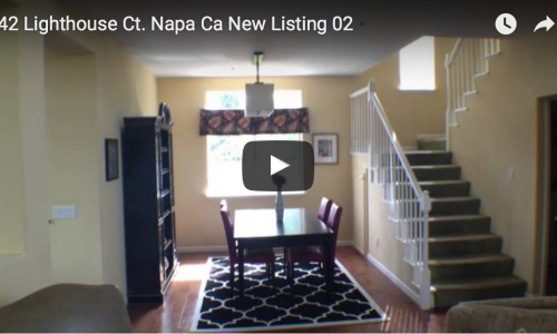 42 Lighthouse Ct. Napa Ca New Listing